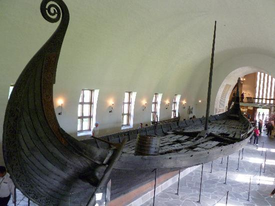 Oslo, Norway: Viking ship at the VIking Ship museum