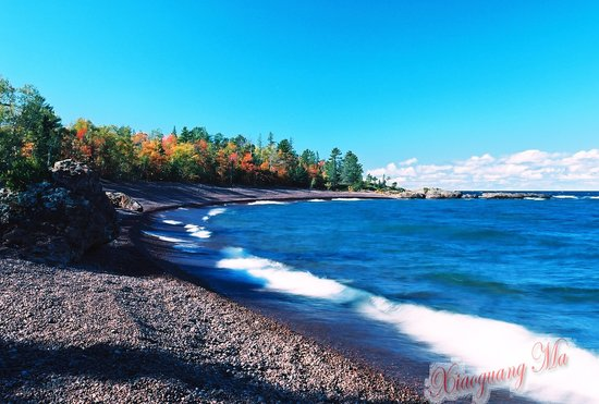 Eagle Harbor, MI: beach view