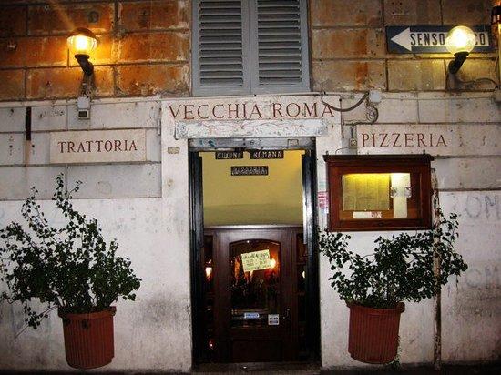 trattoria vecchia roma rome esquilino restaurant