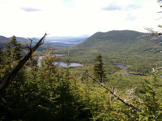 AMC Little Lyford Pond Lodge and Cabins: view from nearby trail
