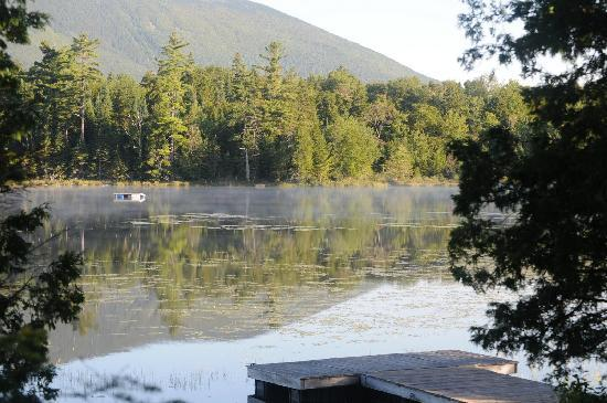 AMC Little Lyford Pond Lodge and Cabins: looking for moose
