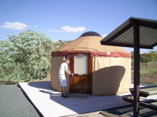 Saint Johns, AZ: Lyman Lake Yurts