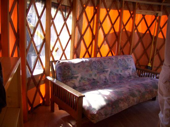 Saint Johns, AZ: Yurt Interior