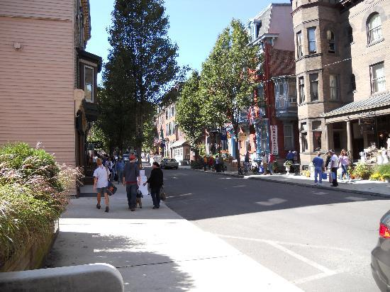 Jim Thorpe, Πενσυλβάνια: center street in town