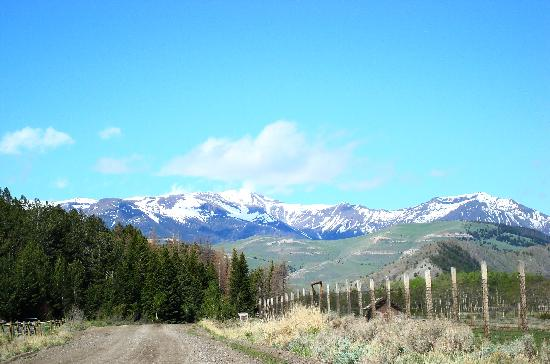 K Bar Z Guest Ranch: Sunlight basin - be sure to check this area out
