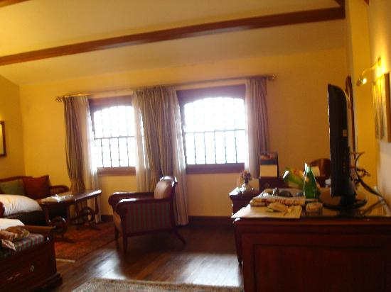 The Oberoi Cecil, Shimla: Our fifth floor room