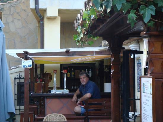 Hotel Villa Lehmi : outdoor bar