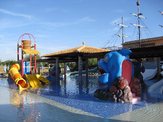 Protur Bonaire Aparthotel: Splash Pool