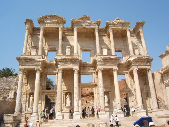 Ekol Travel - Day Tours : Library of Celsus