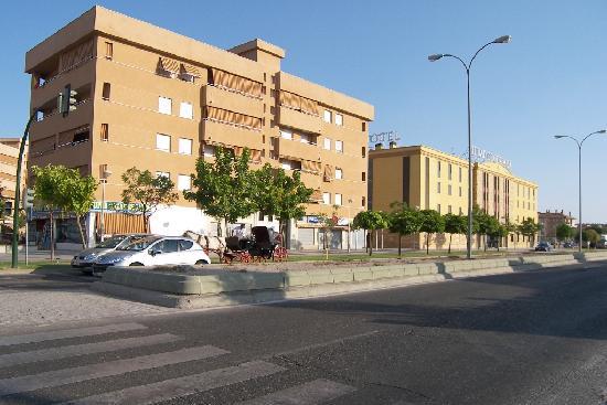 Eurostars Ciudad de Cordoba : front view of the ciudad hotel