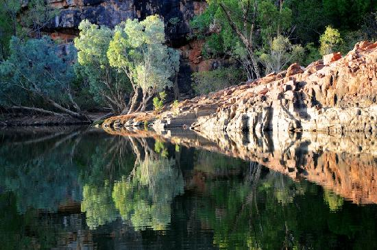 Katherine, Australia: Early morning in the Gorge