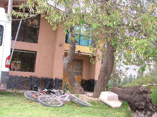 Villa Andina House: la entrada de la casita