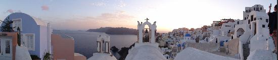 Art Maisons Luxury Santorini Hotels Aspaki & Oia Castle: Beautiful setting for a honeymoon...