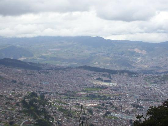 Bogota, Colombia: Beautiful View