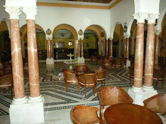 Meliá Atlanterra: Lobby und Hotelbar