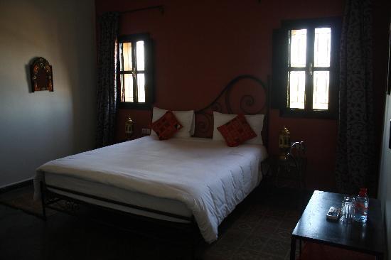Riad Le Ksar de Fes: Notre lit