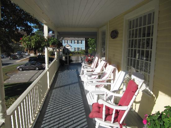 Eastman Inn: porch