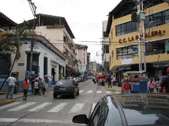 Mérida, Venezuela: Looking East from Plaza Bolivar