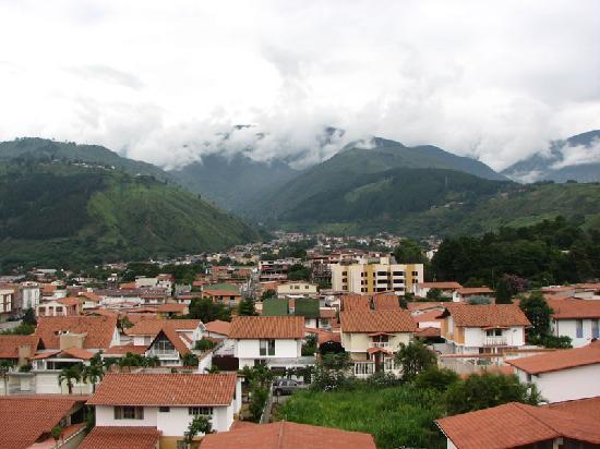 Mérida, Venezuela: Looking North from Urb. Alto Chama
