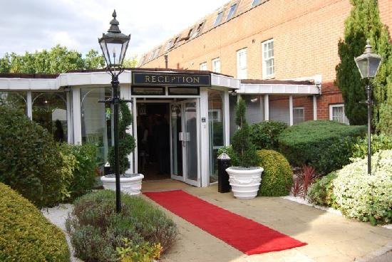 Burnham Beeches Hotel Red Carpet Upon Arrival