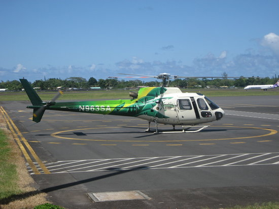 Safari Helicopter Tours: We flew in this aircraft.