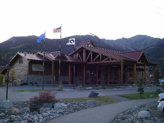 Denali Princess Wilderness Lodge: main building