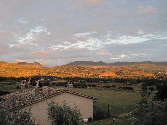 La Bastiglia: Our view from the patio