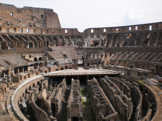 Roman Candle Tours: Inside the Colosseum