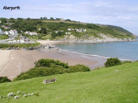 Ceredigion, UK: Aberporth beach