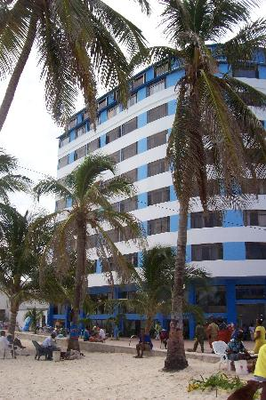 Hotel Blue Tone: frente hotel