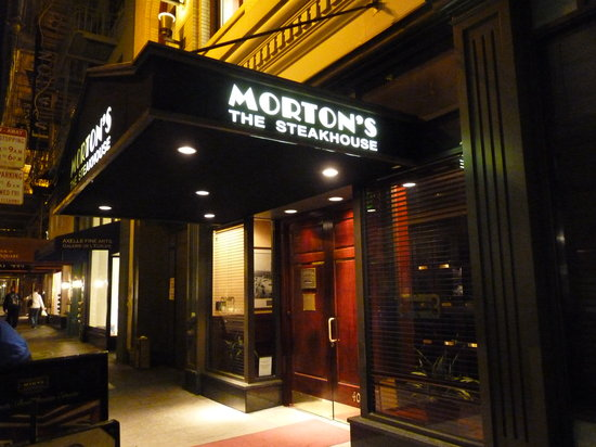 The front of the restaurant picture of morton 39 s the for S kitchen steak house