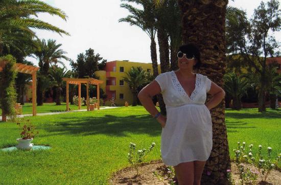 Caribbean World Monastir : me in the garden