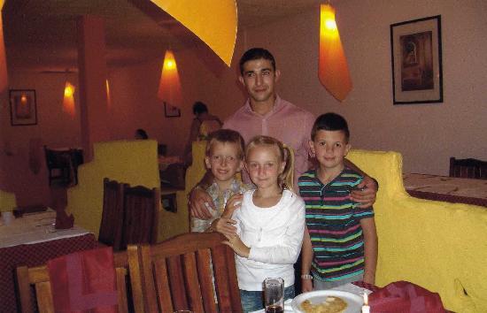 Caribbean World Monastir : Ben and the kids