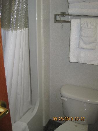 Best Western Plus New England Inn & Suites : bathroom and tub