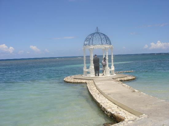 Hotel Riu Montego Bay Wedding Gazebo