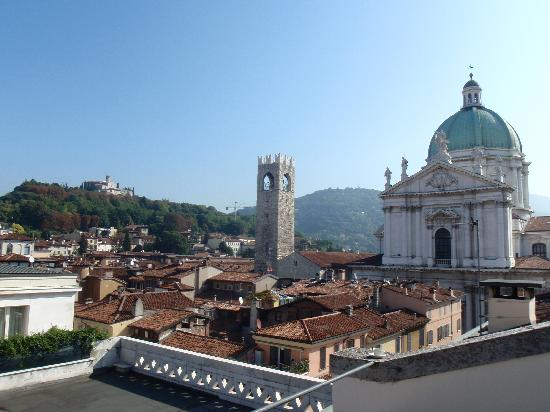 the view from our patio - Foto di Hotel Vittoria, Brescia - TripAdvisor