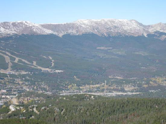 Breckenridge, CO: View from Mountain across from town
