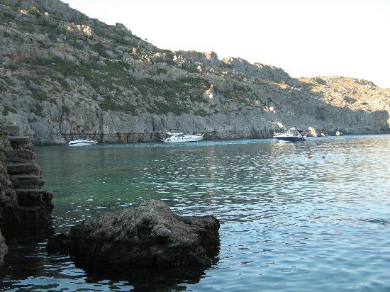 Rhodes, Greece: Anthony Quinn Bay