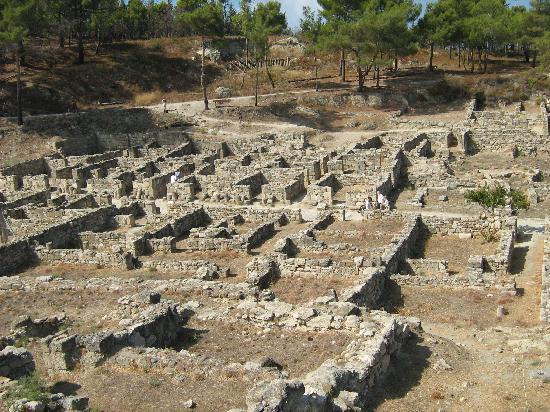 Rhodes, Greece: Ancient Kameiros