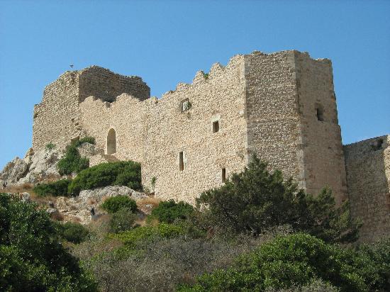 Rhodes, Greece: Castle of Kastellos