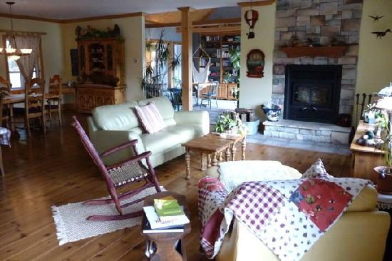 Avalanche Bed & Breakfast: Comfy living room