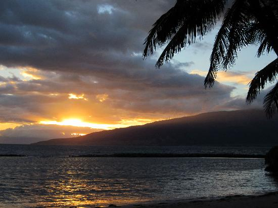 Остров Мауи, Гавайи: Beach at Kihei -Kaleapo Beach 1