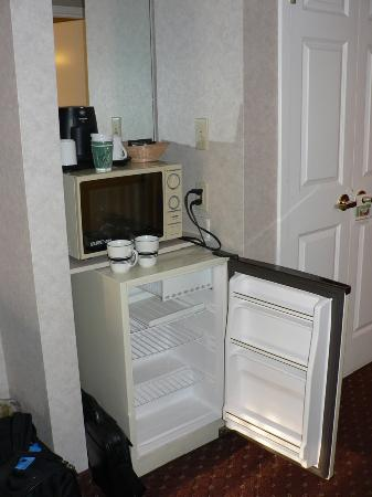 Wingate by Wyndham Chattanooga: Clean fidge and microwave