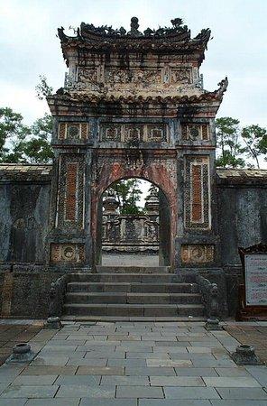 Hue, Vietnam: トゥドゥック帝廟