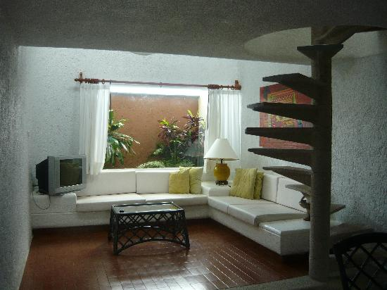 Villas Las Anclas: Sitting / TV area