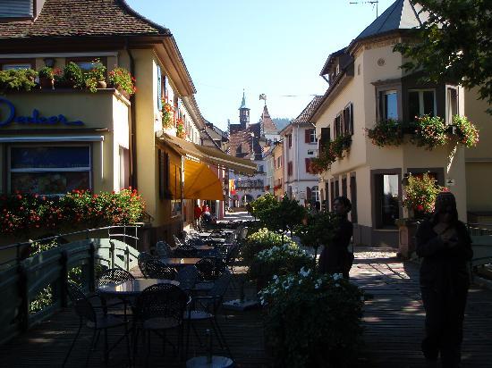 Haus Goethe vom Hotel Löwen: Town center, Staufen