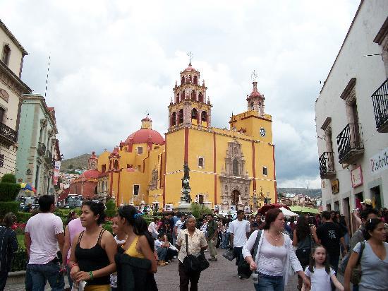 Guanajuato, Meksika: The main street