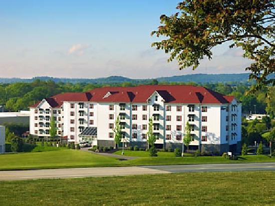The Suites at Hershey: Resort view