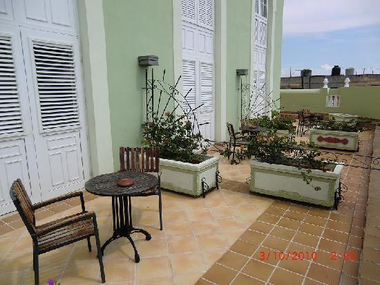 Iberostar Grand Trinidad: Podium of our Room