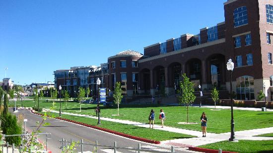 University of Nevada, Reno: Looking towards the student union- The Joe